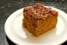 Dessert Made Easy: Pumpkin Cake with Coconut Topping: Pumpkin Cake With Broiled Coconut Topping
