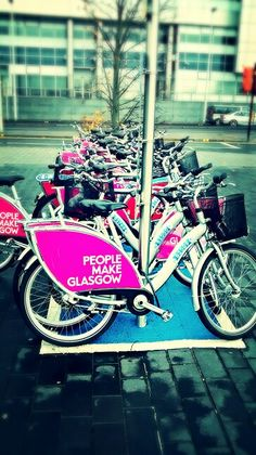 You would like to explore Glasgow? This is a great way to get around while avoiding the traffic and being gentle to our environment!
