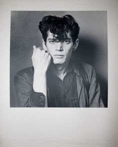 ROBERT MAPPLETHORPE PORTRAIT EXTREMELY RARE PHOTOGRAPH LIMITED EDITION 1/5 1980