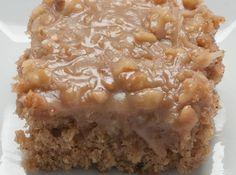 Grandma's Oatmeal Cake-my co-favorite cake of all time.