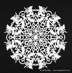 The Quilt Rat: Winter = Snowflakes.....right?