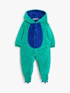John Lewis & Partners Baby Monster Fleece Onesie, Green at John Lewis & Partners Baby Up, Our Baby, Cool Monsters, Monster Design, Baby Development, Baby Essentials, Fleece Hoodie, Fleece Fabric, Baby Care