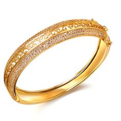Tbz Platinum Bangle Designs | Latest Fashion Styles and Deals 2015 Click to see how you can stop wasting money with Cubic Zirconia Jewelry