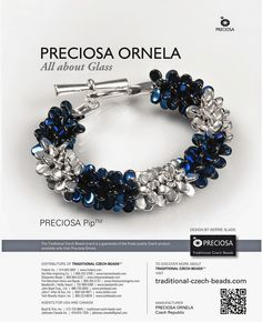 Kerrie Slade: The Pip™ Collection! Free tutorial and video for this bracelet at the link.