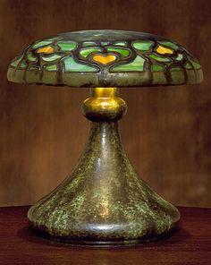 Fulper Pottery Company (United States, New Jersey, Flemington, 1860 - circa 1935) Vasekraft Table Lamp, 1915-1918