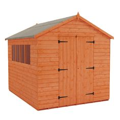 This high quality workshop shed by Tiger Sheds will be the envy of your neighbours. With free deliver this garden workshop shed is the ideal building you are looking for.