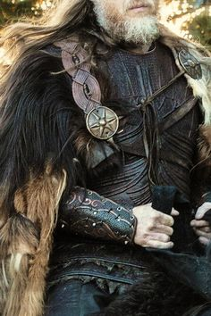 beautiful detail of men's medieval outfit