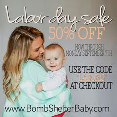 Bomb Shelter Baby Sale 50% off