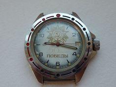 Vostok Wostok Komandirskie militaria horloge