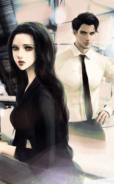 50640 5 Anime, Anime Couples Manga, Hot Anime Guys, Anime Love Couple, Couple Art, Couple Painting, Character Inspiration, Character Art, Fantasy Couples