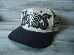 35d17397faf Vintage Georgetown Hoyas hat - Vintage sports hat - Georgetown Hoyas - Vintage  Snapback hat