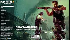 Home page dinamica - Max Payne 3