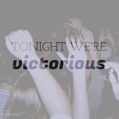 Victorious by Panic! At the disco. Edits by @luciamena18 || @lurodry