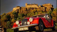 Au sommet d'un promontoire rocheux, le château de Stirling contrôle la route des Higlands.