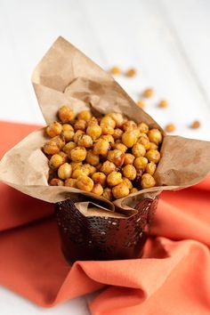 Parmesan Ranch Roasted Chickpeas