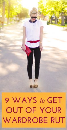 How to get out of a wardrobe rut