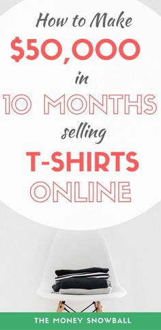 Find out how you can sell t-shirts online to make passive income. All for free with no inventory, no e-commerce store, and no money spent on marketing. Earn Money From Home, Way To Make Money, Make Money Online, How To Make, Things To Sell Online, Make To Sell, Quick Money, Extra Money, Irises