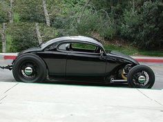 the nicest gloss black Volksrod ever. I'd love one of these some day.