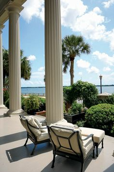 Read the latest on the Charleston real estate market. Learn about Charleston homes for sale, as well as the latest on Charleston life. Charleston South Carolina, Charleston Sc, Outdoor Spaces, Outdoor Living, Outdoor Decor, Southern Comfort, Southern Charm, Southern Living, Southern Mansions