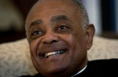 Bishop Wilton Gregory is shown in his Belleville, Ill., office on Nov. 8, 2004. Gregory, who was president of the U.S. Conference of Catholic Bishops for three years during the height of the clergy molestation crisis, has been appointed by Pope John Paul II to serve as Archbishop of Atlanta, the archdiocese announced Thursday, Dec. 9, 2004. ...become Atlanta's sixth archbishop. He succeeds Archbishop John F. Donoghue, who is resigning.