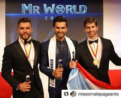WEBSTA @ real_missosology - #Repost @missomalepageants with @repostapp・・・Pre-arrival favorite Rohit Khandelwal of India was named Mr World 2016 during the finals held July 19 at the Floral Hall, Southport Convention Center, in Southport, England.Former Mister International finalist Fernando Alvarez of Puerto Rico finished in second place, while Mr Mexico Aldo Esparza placed third. Christopher Bramell of England and Kevin Owiti of Kenya completed the Top 5 finalists.#MrWorld #MrWorld2016…