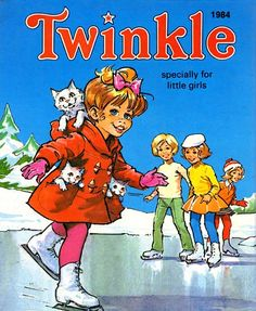 Twinkle- my first annual- again in my parents loft for when I have a little girl of my own