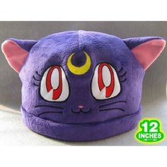 Sailor Moon: Purple Luna Cat Costume Hat ($11)