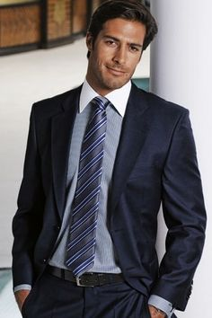Men's Fashion: I'm on the fence re: white collar, but all else are fab!