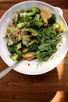 honey mustard broccoli salad by joy the baker, via Flickr
