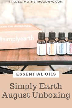 @fromsimplyearth August box spoilers and a citrus summer diffuser essential oil blend you will want to diffuse every single day.