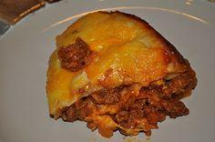 Crockpot Enchilada Casserole