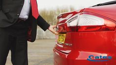 Rear of the new Ford Mondeo at Gates Ford #Ford