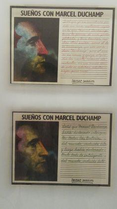 alvaro barrrios ( cartagena de indias)  sueños con Marcel Duchap