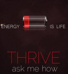 Thrive is changing lives. Do you have your Thrive on? What are you waiting for?!