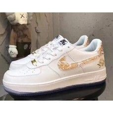 brand new 83636 7704a Buy Nike Air Force 1 - Cheap Nike Air Force 1 Mens Womens Low White Gold