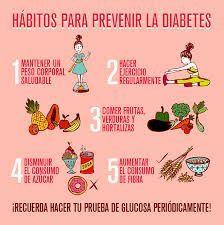 Resultado de imagen para 7 habitos diabetes