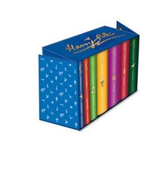 A lavish boxed set incorporating the complete set of Harry Potter titles available in hardback for the first time