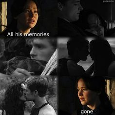 It's so sad because they took away all of his love and memories with Katniss