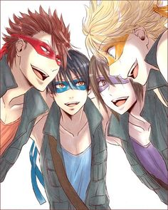 Photo of tmnt anime for fans of Teenage Mutant Ninja Turtles 36488527 Cartoon Characters As Humans, Anime Characters, Anime Crossover, Anime Vs Cartoon, Manga Anime, Cartoon Guy, Cartoon Memes, Hot Anime, Cartoon Drawings
