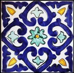 Ceramics - Italian pottery - Mattonaccio tile - Berenice -   Touch of Sicily - Italy                                                                                                                                                                                 Más