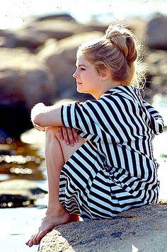 Candice Bergen.  Photo by Milton Greene, 1966.