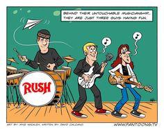 Rush...having fun.
