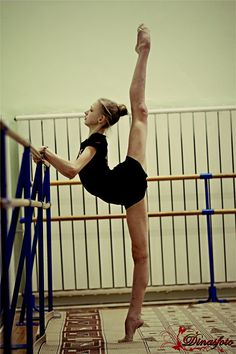 Dreams don't really come true, but hers did . Well if she wanted o be a ballerina I mean.