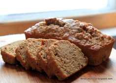 Healthy Sweet Potato & Parsnip Quick Bread
