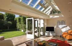 Folding door system in East Sussex | Westbury Joinery | Windows and Doors