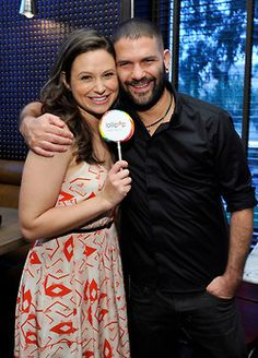 Huck and Quinn | Katie Lowes and Guillermo Diaz | Scandal