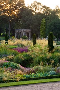 Garden view - Photograph by Clive Nichols.