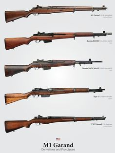 "Garand Derivatives"" Posters by Brendan Matsuyama M1 Garand, Weapons Guns, Guns And Ammo, Battle Rifle, Weapon Concept Art, Fire Powers, Hunting Rifles, Military Weapons, Military Equipment"