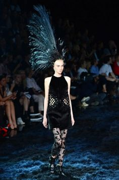 Cut dress nero di Louis Vuitton