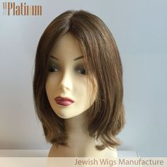 16 inch #8 Russian hair kosher wig jewish wig from @viviplatinumwig . More information, please add my whatsapp +8615964264679 or email to us to get more information.